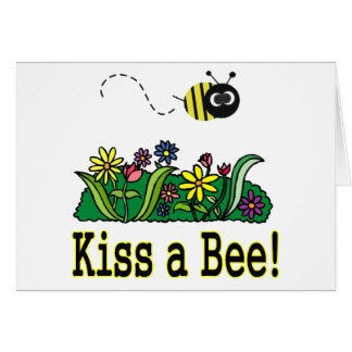 Kiss a Bee Card