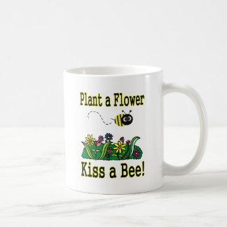Kiss a Bee Coffee Mug