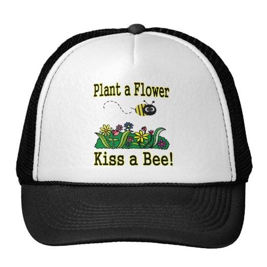 Kiss a Bee Trucker Hat