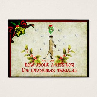 Kiss A Meerkat Business Card