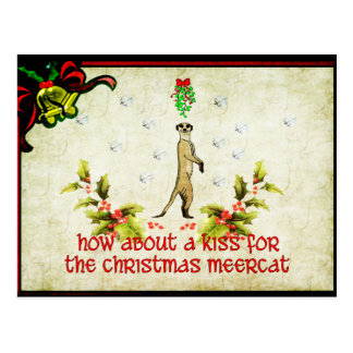 Kiss A Meerkat Postcard