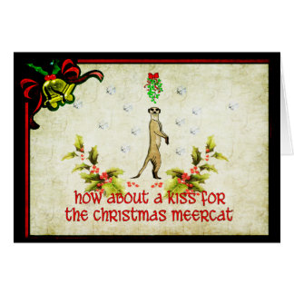 Kiss A Meerkat Stationery Note Card
