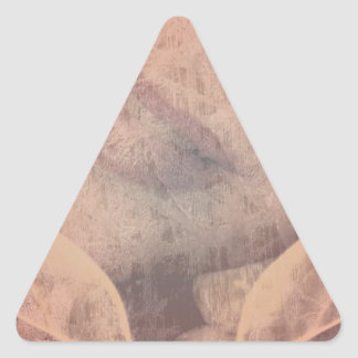 Kiss-able Triangle Sticker
