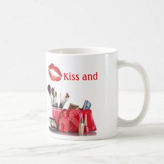 """""""Kiss and Makeup"""" mug"""