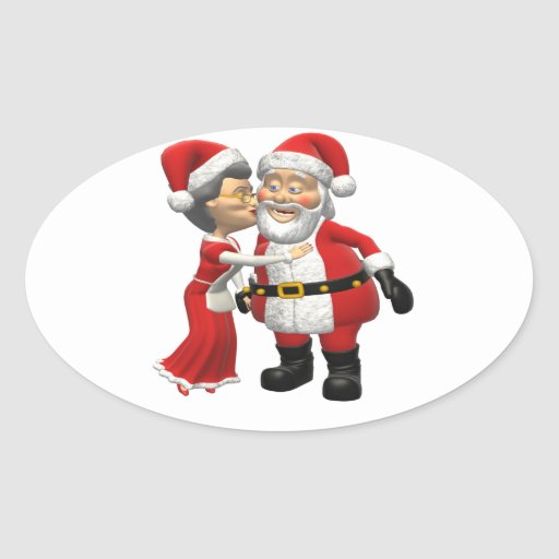 Kiss Before Work Oval Sticker