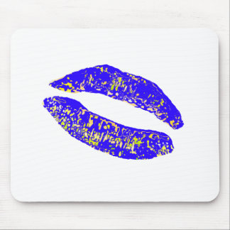 Kiss Blue Gold 20 deg The MUSEUM Zazzle Gifts Mouse Pad