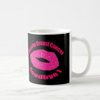 Kiss Breast Cancer Goodbye Mugs