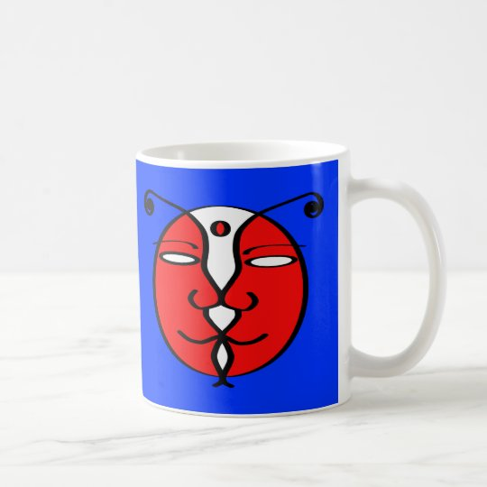 Kiss Bug Coffee Mug