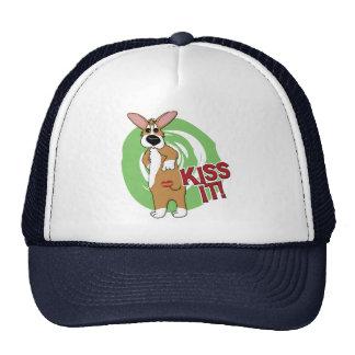 Kiss Butt Corgi Mesh Hat