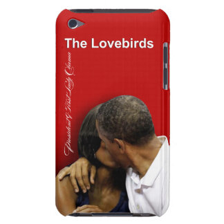 KISS CAM Lovebirds President & First Lady Obama Barely There iPod Case