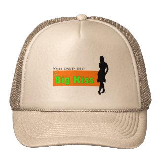 Kiss caps trucker hat