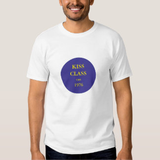Kiss Class CHS 1976. Cadillac colors. Large logo. T-shirt