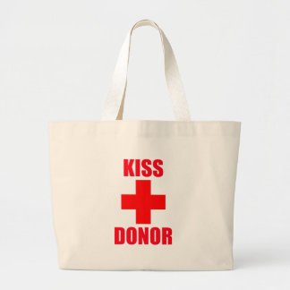 Kiss Donor Tote Bags