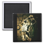 Kiss Eternal 2 Inch Square Magnet