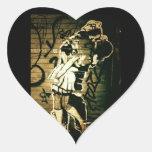 Kiss Eternal Heart Stickers