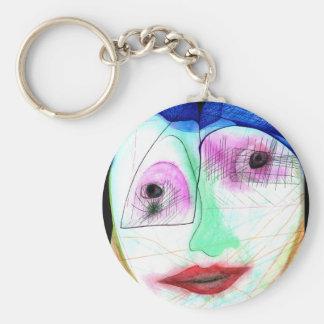 Kiss Face Keychain