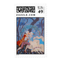 Kiss Fashion Plate ~ Stamps / Postage
