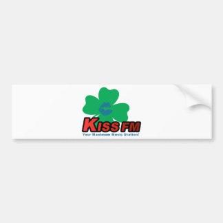 KISS FM Dublin Car Bumper Sticker