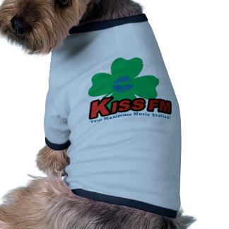 KISS FM (Dublin) Pet Tee Shirt