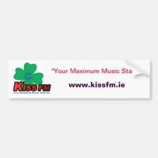 KISS FM Ireland Car Sticker Car Bumper Sticker