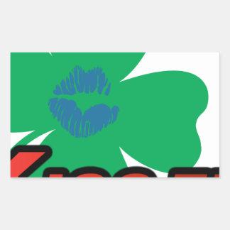 KISS FM Ireland Rectangular Stickers