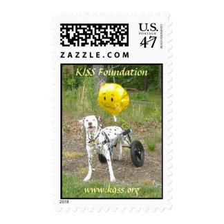 """KISS Foundation """"Kayla""""  ~ Stamp"""