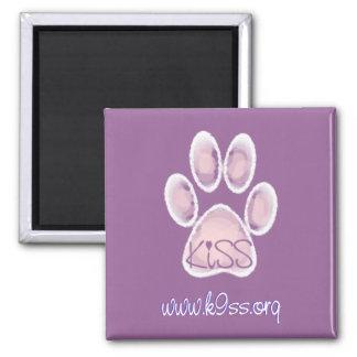 KISS Foundation ~ Pawprint Magnet