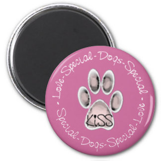 KISS Foundation ~ Special Dogs Magnet