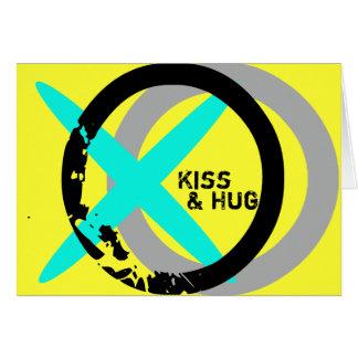 Kiss & Hug Valentine's Card