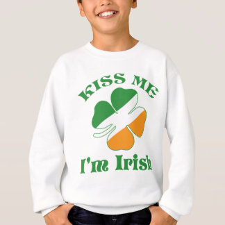 Kiss I Am Irish Sweatshirt