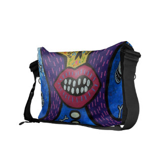 KISS II DAY OF THE DEAD MESSENGER BAG