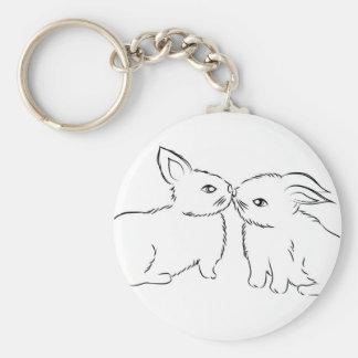 Kiss Keychain
