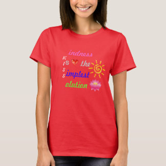 KISS ~ Kindness Is the Simplest Solution <3 Soft T T-Shirt