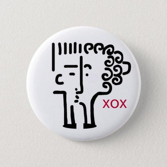 Kiss kiss button
