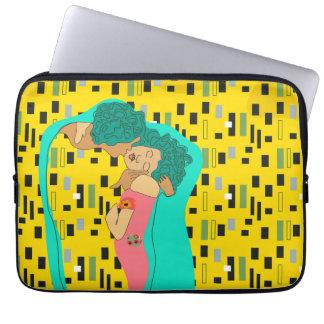 Kiss Laptop sleeve
