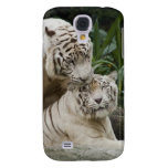 Kiss love peace and joy white tigers lovers samsung galaxy s4 case