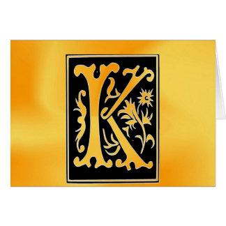 Kiss love peace card