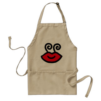 Kiss Me Adult Apron
