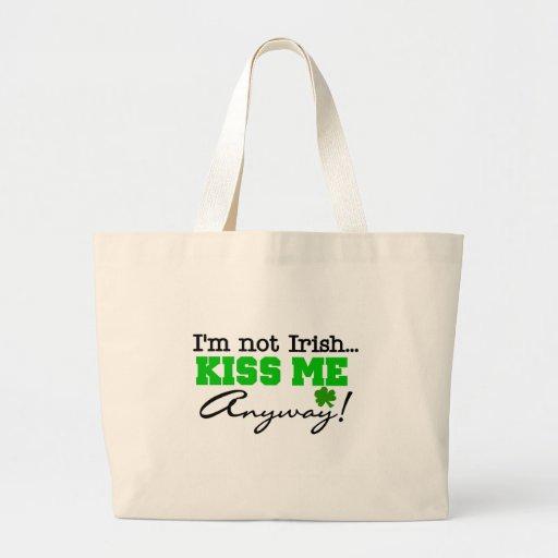 Kiss Me Anyway T-shirts and Gifts Jumbo Tote Bag