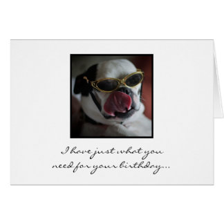 Kiss Me Birthday Card
