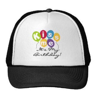Kiss Me Birthday Trucker Hat