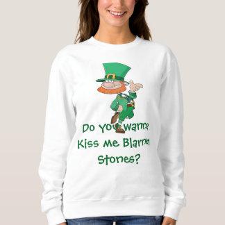 Kiss me Blarney Stones Sweatshirt