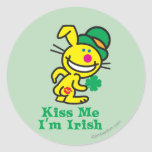 Kiss Me Classic Round Sticker