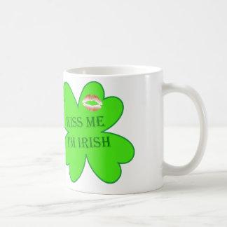 Kiss Me... Classic White Coffee Mug