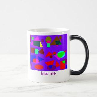 kiss me coffee mugs