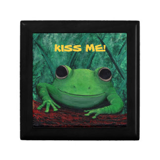 KISS ME! (Frog Design) ~ Jewelry Box