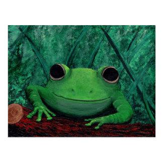 KISS ME! (Frog Design) ~ Post Card