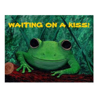 KISS ME! (Frog Design) ~ Post Cards