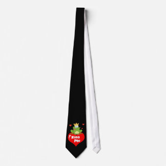 Kiss Me Frog - First Date Tie? Neck Tie