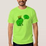 Kiss Me - Frog Prince - Funny Frog T Shirt